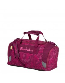 Satch Sport Duffle Purple Leaves Weekendtas afbeelding