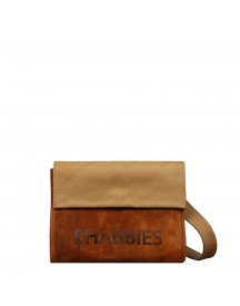 Shabbies Amsterdam Suede Crossbody Clutch Orange afbeelding