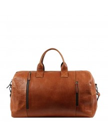 Still Nordic Clean Xl Weekend Bag Cognac Weekendtas afbeelding