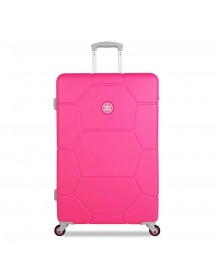 Suitsuit Caretta Playful Trolley 76 Hot Pink Harde Koffer afbeelding
