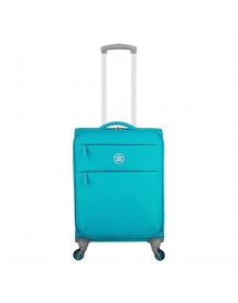 Suitsuit Caretta Soft Trolley 53 Peppy Blue Harde Koffer afbeelding