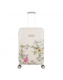 Suitsuit English Garden Trolley 66 White Harde Koffer afbeelding