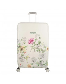 Suitsuit English Garden Trolley 76 White Harde Koffer afbeelding