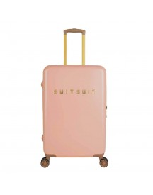 Suitsuit Fab Seventies Trolley 66 Coral Cloud Harde Koffer afbeelding