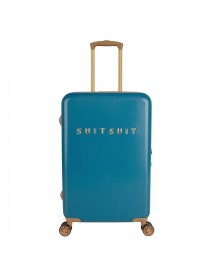 Suitsuit Fab Seventies Trolley 66 Seaport Blue Harde Koffer afbeelding