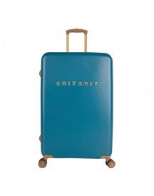 Suitsuit Fab Seventies Trolley 76 Seaport Blue Harde Koffer afbeelding