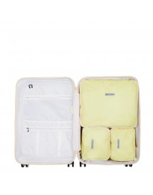 Suitsuit Fabulous Fifties Packing Cube Set 66 Cm Mango Cream afbeelding