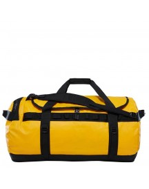 The North Face Base Camp Duffel L Summit Gold / Tnf Black Weekendtas afbeelding