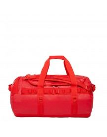 The North Face Base Camp Duffel M Rage Red / Fiery Red Weekendtas afbeelding