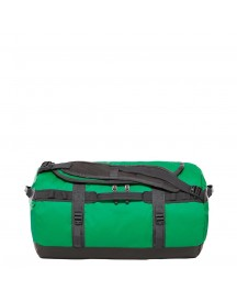 The North Face Base Camp Duffel S Primary Green / Asphalt Grey Weekendtas afbeelding