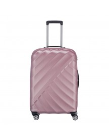 Titan Shooting Star 4 Wiel Trolley M Expandable Rose Harde Koffer afbeelding