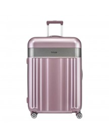 Titan Spotlight Flash 4 Wiel Trolley L Wild Rose Harde Koffer afbeelding