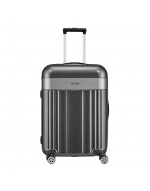 Titan Spotlight Flash 4 Wiel Trolley M Antracite Harde Koffer afbeelding
