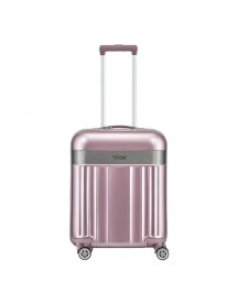 Titan Spotlight Flash 4 Wiel Trolley S Wild Rose Harde Koffer afbeelding