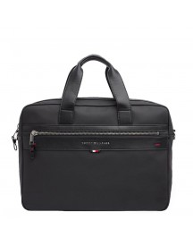 Tommy Hilfiger Men Elevated Computer Bag Black afbeelding