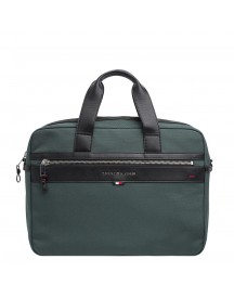 Tommy Hilfiger Men Elevated Computer Bag Rain Forest afbeelding