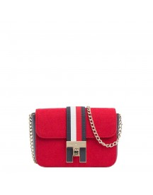 Tommy Hilfiger Women Heritage Mini Crossover Red afbeelding