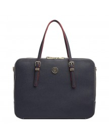 Tommy Hilfiger Women Honey Computer Bag Navy afbeelding