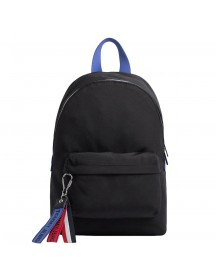 Tommy Hilfiger Women Logo Tape Backpack Mini Black Mix afbeelding