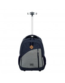 Travelite Basics Trolley Backpack Navy afbeelding