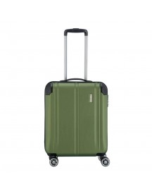 Travelite City 4 Wiel Trolley S Green Harde Koffer afbeelding