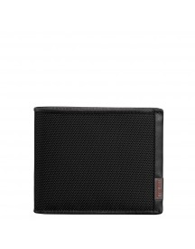 Tumi Alpha Global Wallet With Coin Pocket Black afbeelding