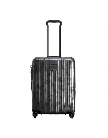 Tumi V3 Continental Expandable Carry-on Galvanized Silver Harde Koffer afbeelding