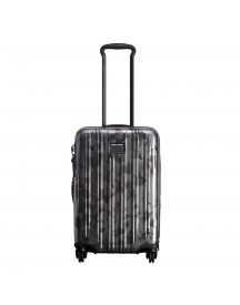 Tumi V3 International Expandable Carry-on Galvanized Silver Harde Koffer afbeelding