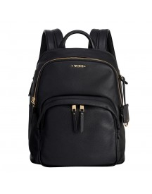 Tumi Voyageur Leather Dori Backpack Black Rugzak afbeelding
