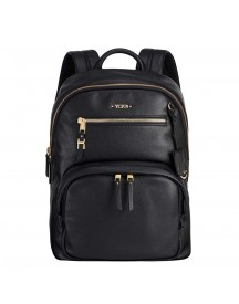 Tumi Voyageur Leather Hagen Backpack Black afbeelding
