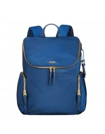 Tumi Voyageur Lexa Zip Flap Backpack Ocean Blue afbeelding