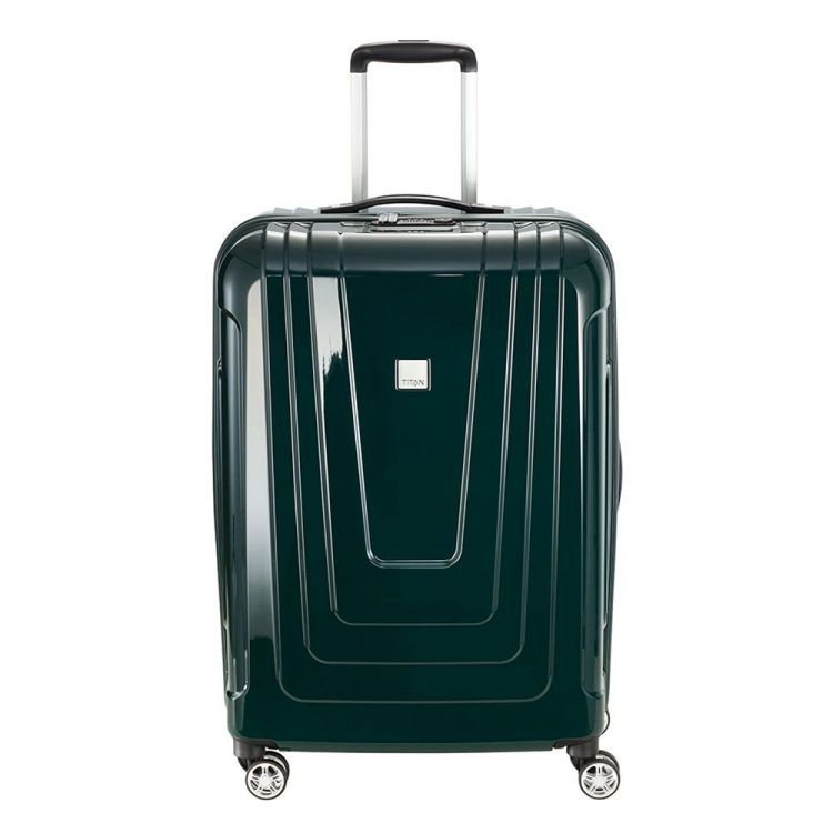 Image Titan X-ray 4w Trolley M+ Racing Green Harde Koffer