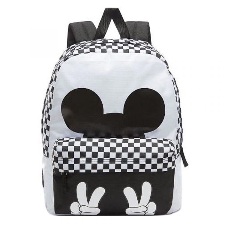 Image Vans Realm Backpack Mickey White/black