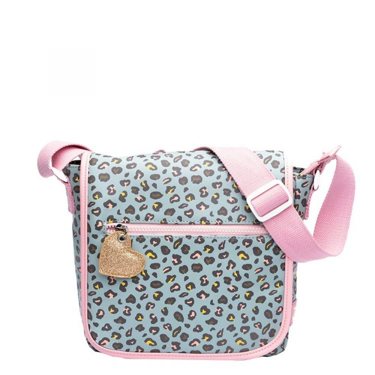 Image Zebra Trends Girls Flaptasje Leo Mint Kindertas