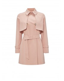 Topshop Trenchcoat Double Breasted afbeelding
