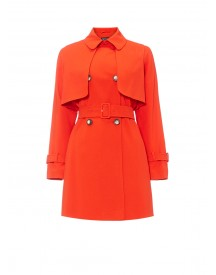 Topshop Truster Double-breasted Trenchcoat afbeelding