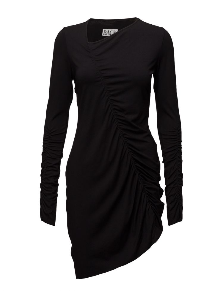 Image Gather Dress Jersey Back Dresses