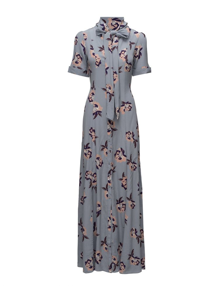 Image Bowtie Maxi Dress By Ti Mo Dresses