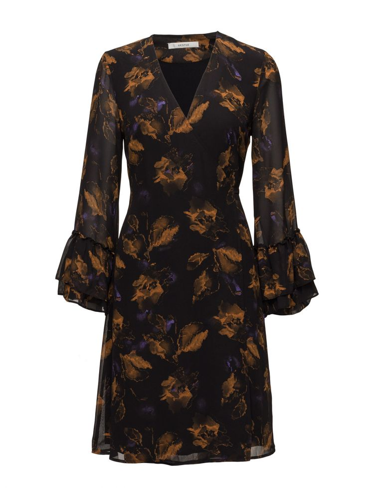 Image Carola Wrap Dress Ze4 17 Gestuz Dresses