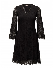 Lace V-neck Dress By Ti Mo Dresses afbeelding