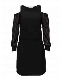Dress W. Leaf Cut Out Sleeve Coster Copenhagen Dresses afbeelding