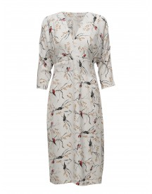 Kimono Dress W. Bird Print Coster Copenhagen Dresses afbeelding