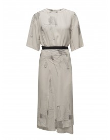 Double Wrap Printed Dress Filippa K Dresses afbeelding