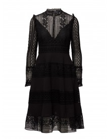 Orabelle Lace Ls Hghnk Flrd French Connection Dresses afbeelding