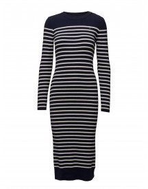 Exly Stripe R Dress Knit Wmn L G-star Dresses afbeelding