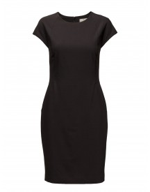 G1. Bi-stretch Wool Fitted Dress Gant Dresses afbeelding