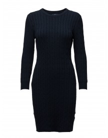Stretch Cotton Cable Dress Gant Dresses afbeelding