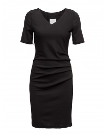 India V-neck ½ Sleeve Kaffe Dresses afbeelding