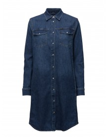 Shirt Dress Mid Worn Lee Jeans Dresses afbeelding