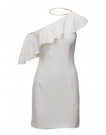 One Shoulder Drapery Dress Marciano By Guess Dresses afbeelding